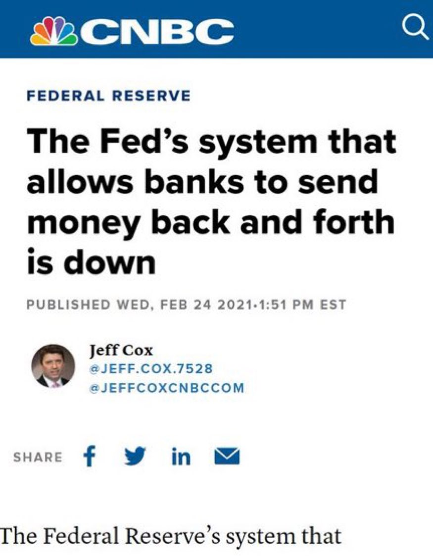 "The Federal Reserve: ""We will make digital dollar which will make #Bitcoin obsolete.""  Also the Fed:"