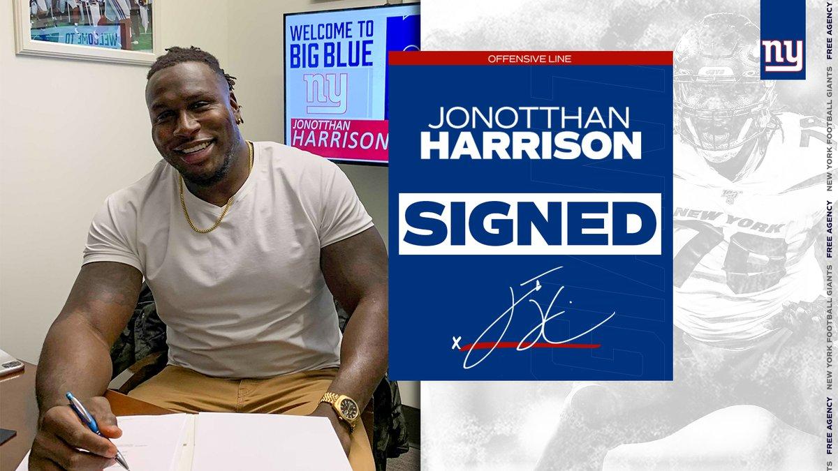 Welcome to Big Blue, @JHarrison_72!  📰: