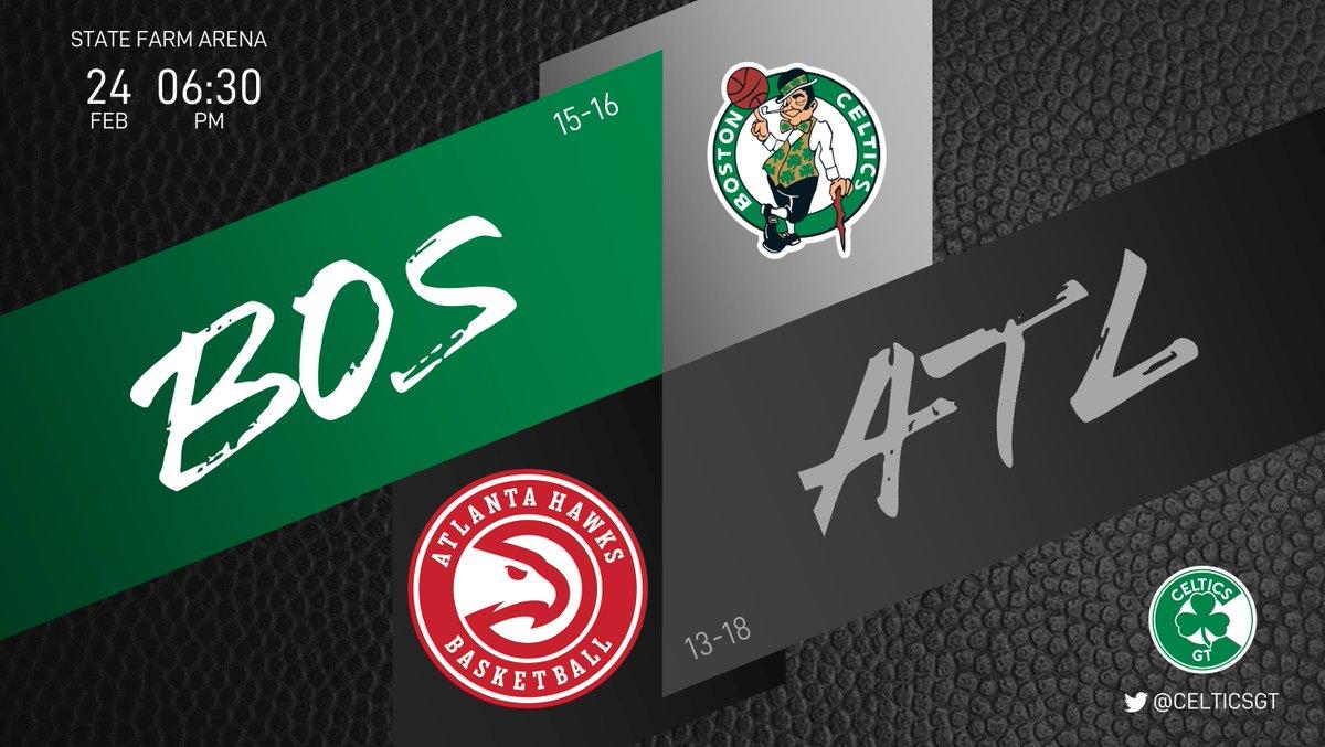 Después de tanta derrota decepcionante, se viene una victoria por 40. Se viene una corrección a la media, se siente en el aire. Lo siento @TheTraeYoung  ☘ Celtics (15-16) 🦅 Hawks (13-18) ⏰ 06:30PM  #WholeNewGame #Celtics https://t.co/dIa4ndi2e5