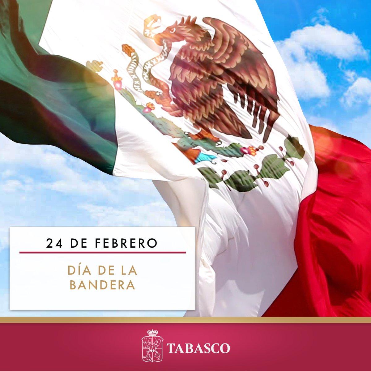 Hoy celebramos el Día de la Bandera Mexicana, sin lugar a dudas, el símbolo patrio más importante de nuestra nación y un referente de independencia, justicia e identidad entre los mexicanos https://t.co/byJRyTQciI