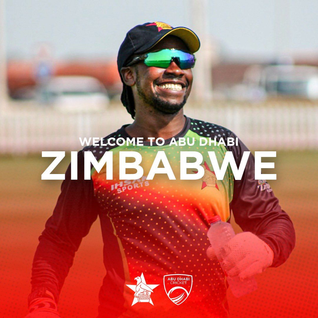 Welcome to Abu Dhabi 🇿🇼  Abu Dhabi Cricket are delighted to welcome @ZimCricketv ahead of their series against @ACBofficials 🏏  #AbuDhabiCricket #AFGvZIM #InAbuDhabi