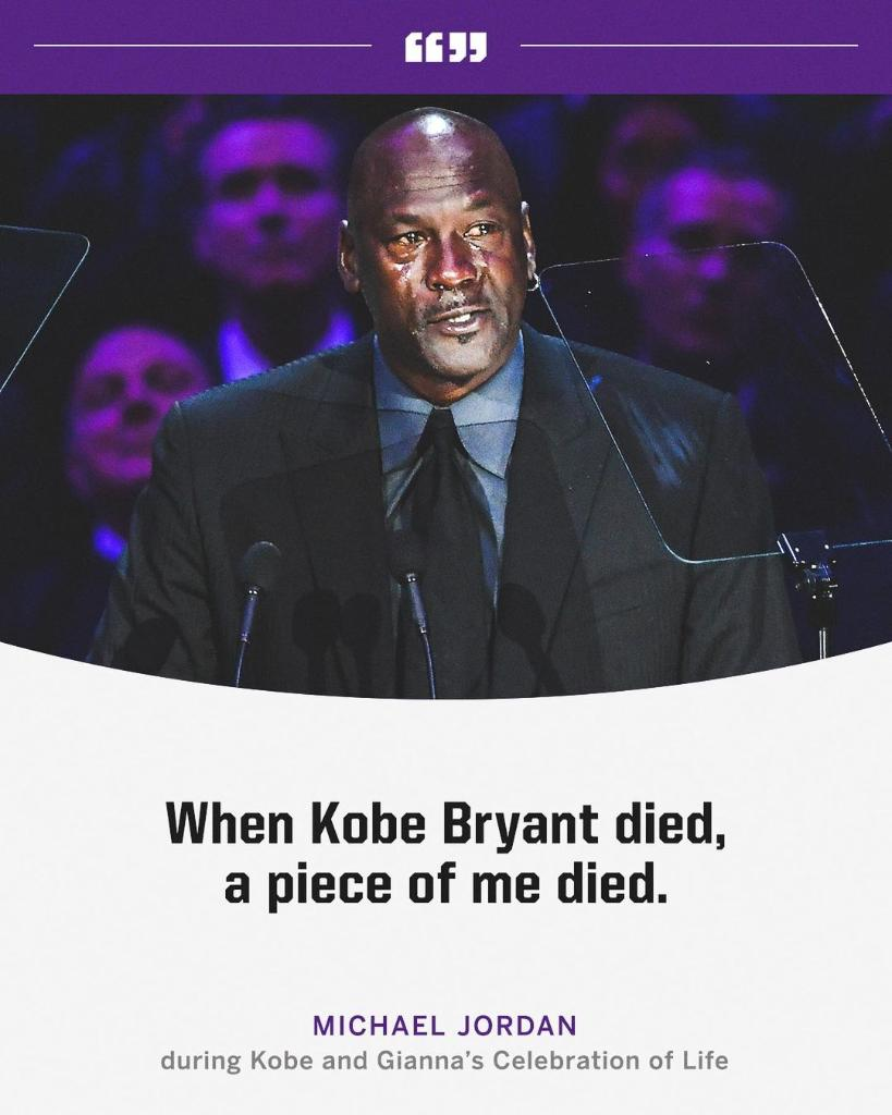 One year ago, the sports world joined together inside Staples Center to celebrate the lives of Kobe and Gianna Bryant.  MJ and Shaq's speeches were both unforgettable.
