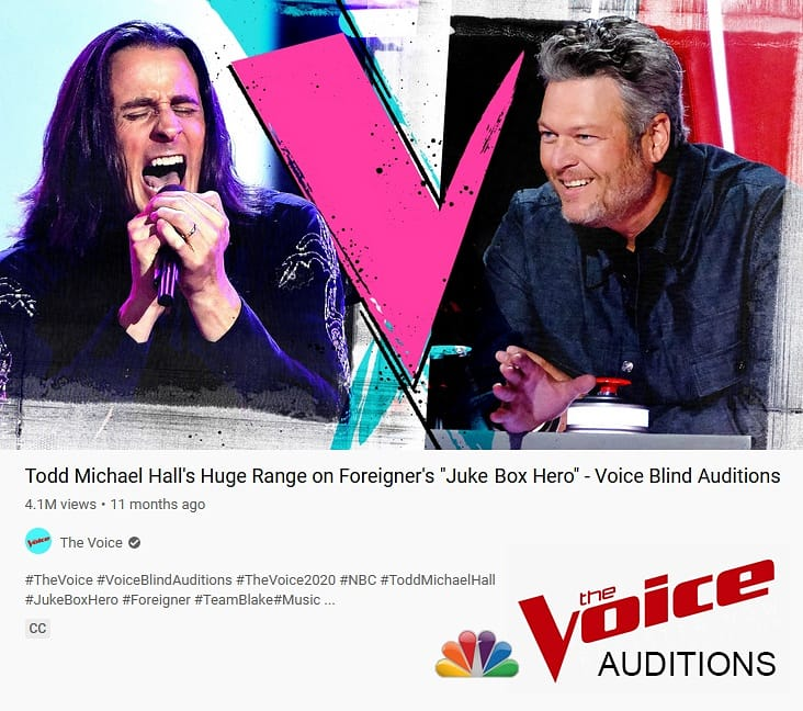 One year ago today my blind audition for The Voice aired on TV. We had a party at my sister's house and masks were not a thing yet. New TMH music is coming very soon on Rat Pak Records, so the story continues.  @nbcthevoice @blakeshelton @ratpakrecords #thevoice #teamblake