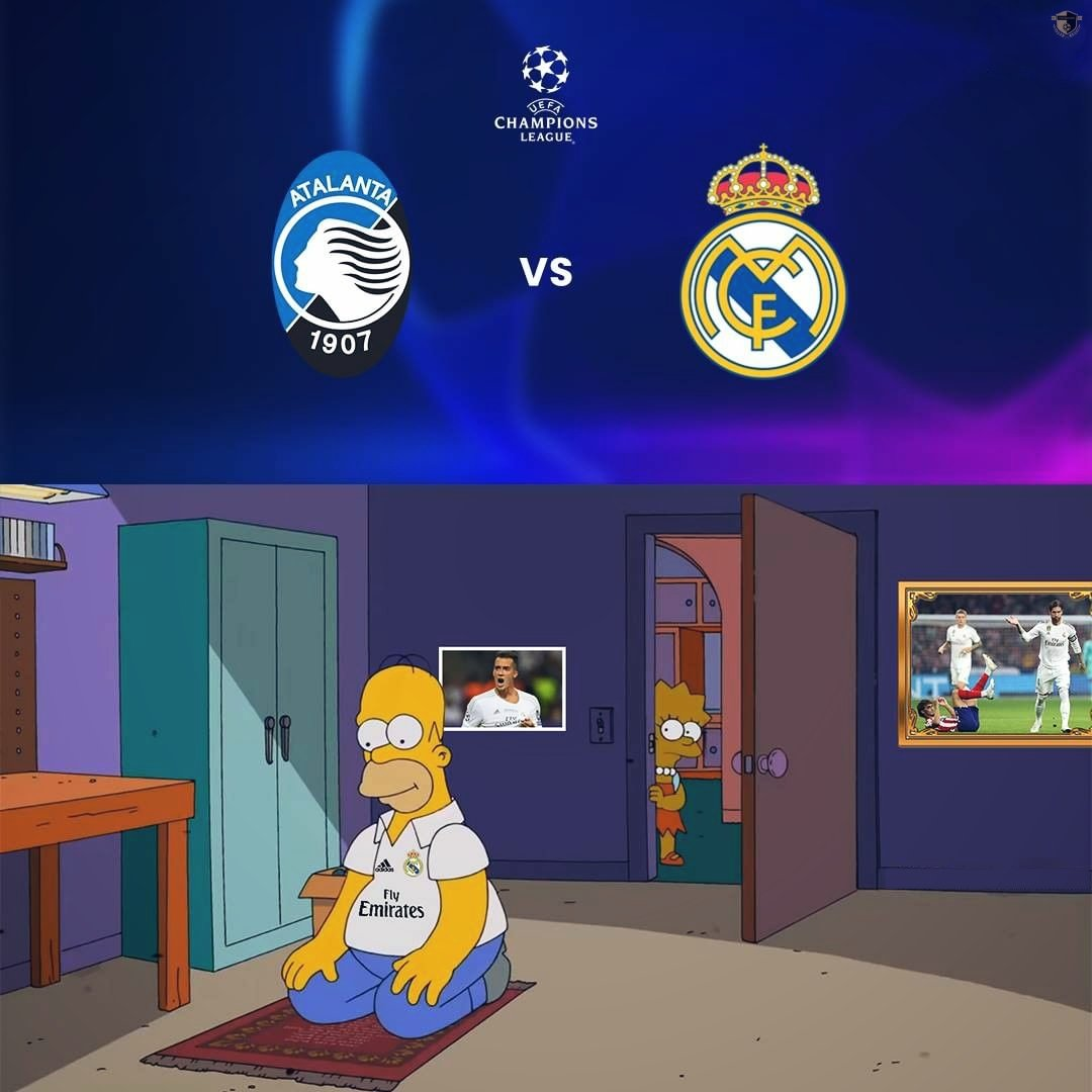 Let us pray for  RealMadrid together 🙏♥️  Today they will show their class🔥♥️  #Realmadrid #atalana #uefachampionsleague #UEFA #UCL #championsleague