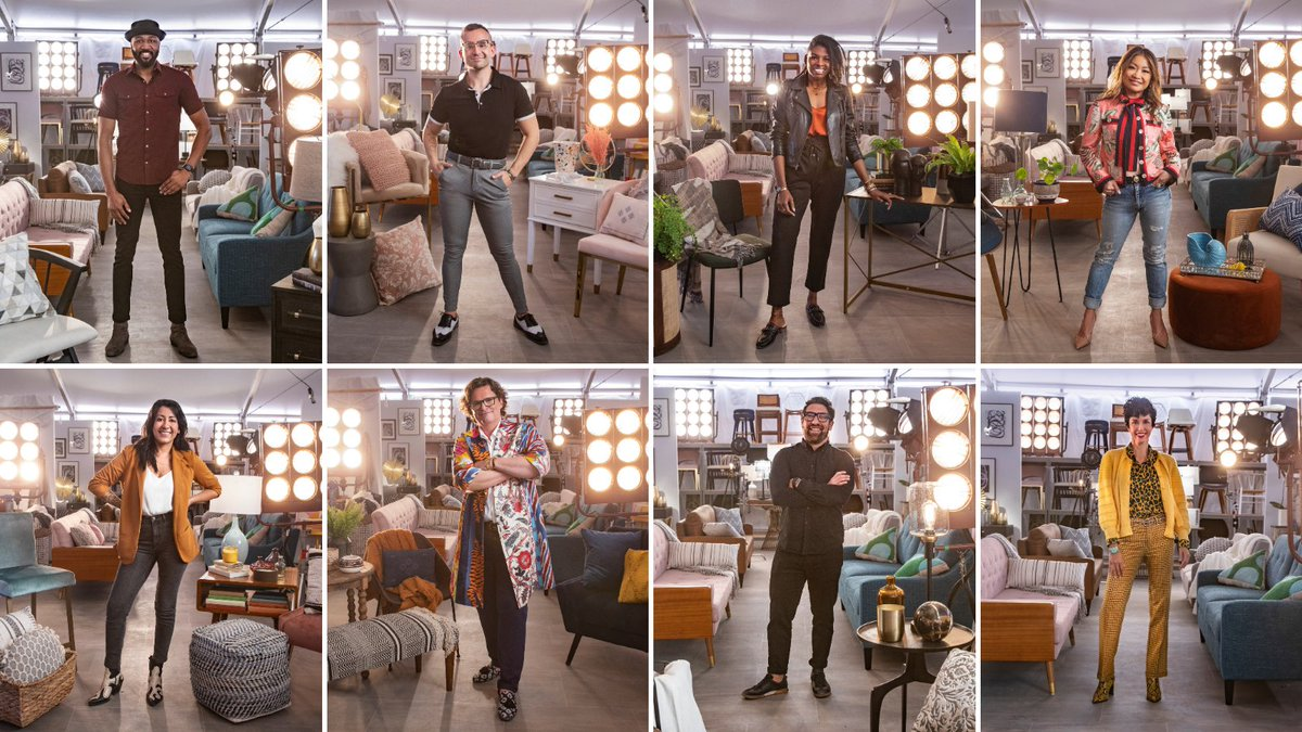 ✨ Meet the contestants of #HGTVDesignStar Next Gen ✨ One of these eight competitors will become next Design Star to win their own show and $50K!  You can stream Design Star: Next Gen NOW on #discoveryplus.