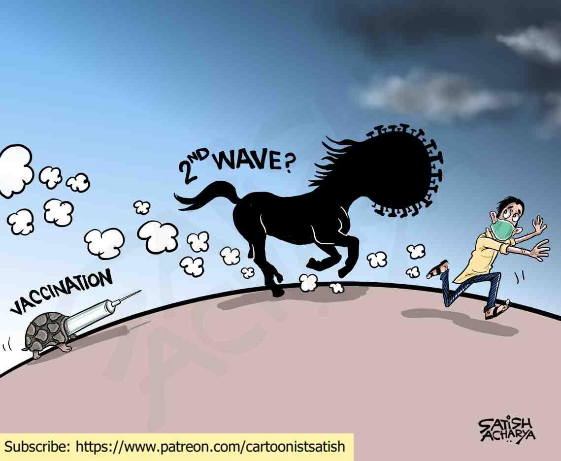 Second wave? #Corona #CoronaVaccine