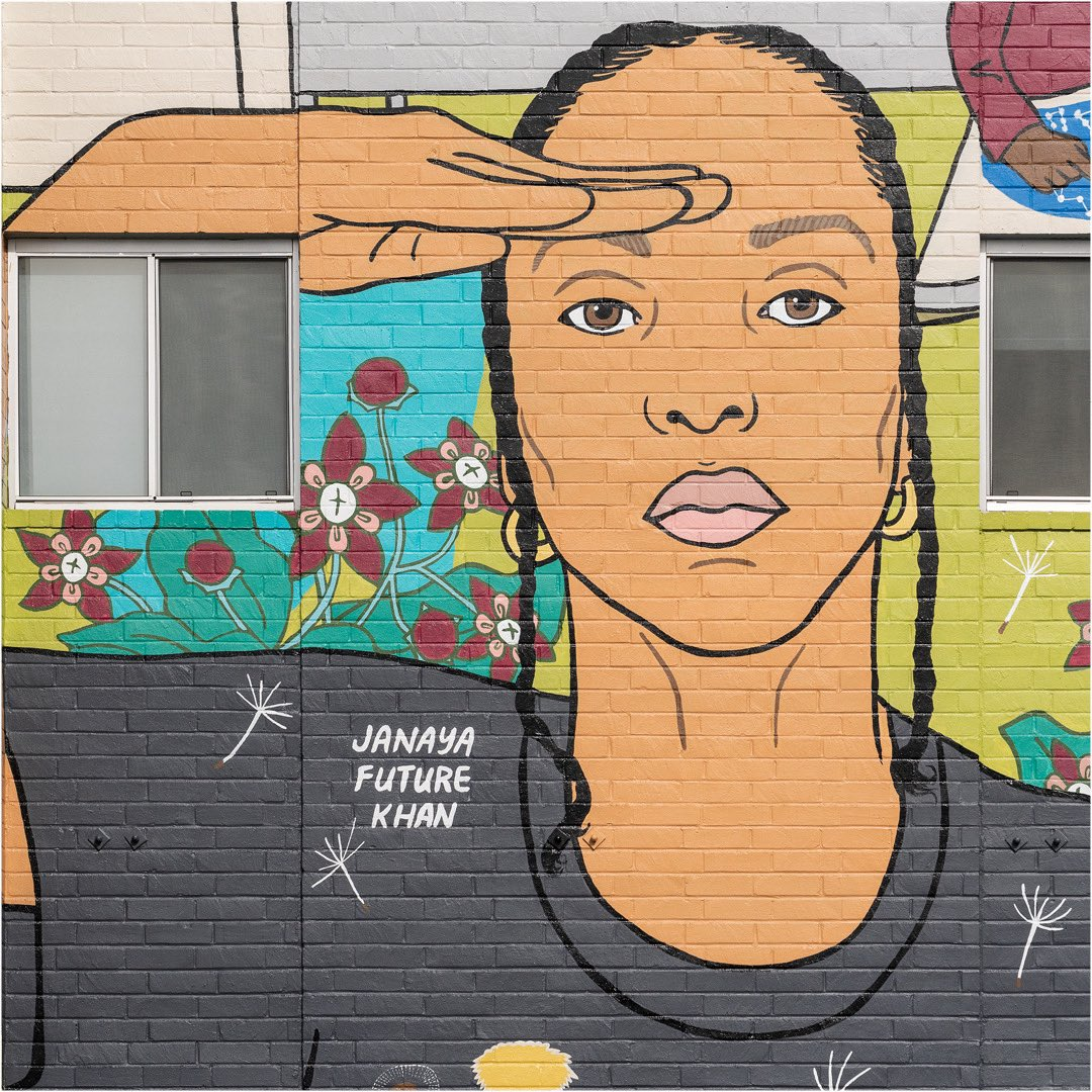 """Today at 4 p.m. PT, join us in conversation with the @FowlerMuseum about """"The Care We Create"""" mural at our Los Angeles offices.RSVP: https://t.co/N1B8fYAsm9"""
