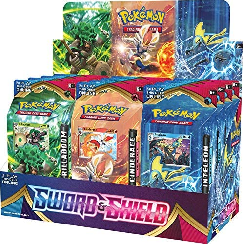 Pokemon TCG: Sword & Shield Theme Deck is up on Amazon: 2 only buy Shipped and Sold by Amazon