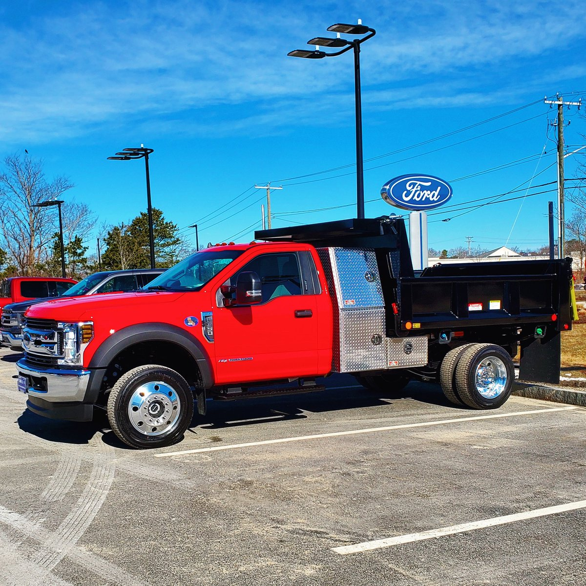 Worktruck Wednesday!2020 Ford F550 6.7L Diesel Dump Truck!Contact Winston at wbennett@buycolonialford.com today! #Diesel #work #worktruckwednesday #worktruck #wednesdaythought  #BlackLivesMatter