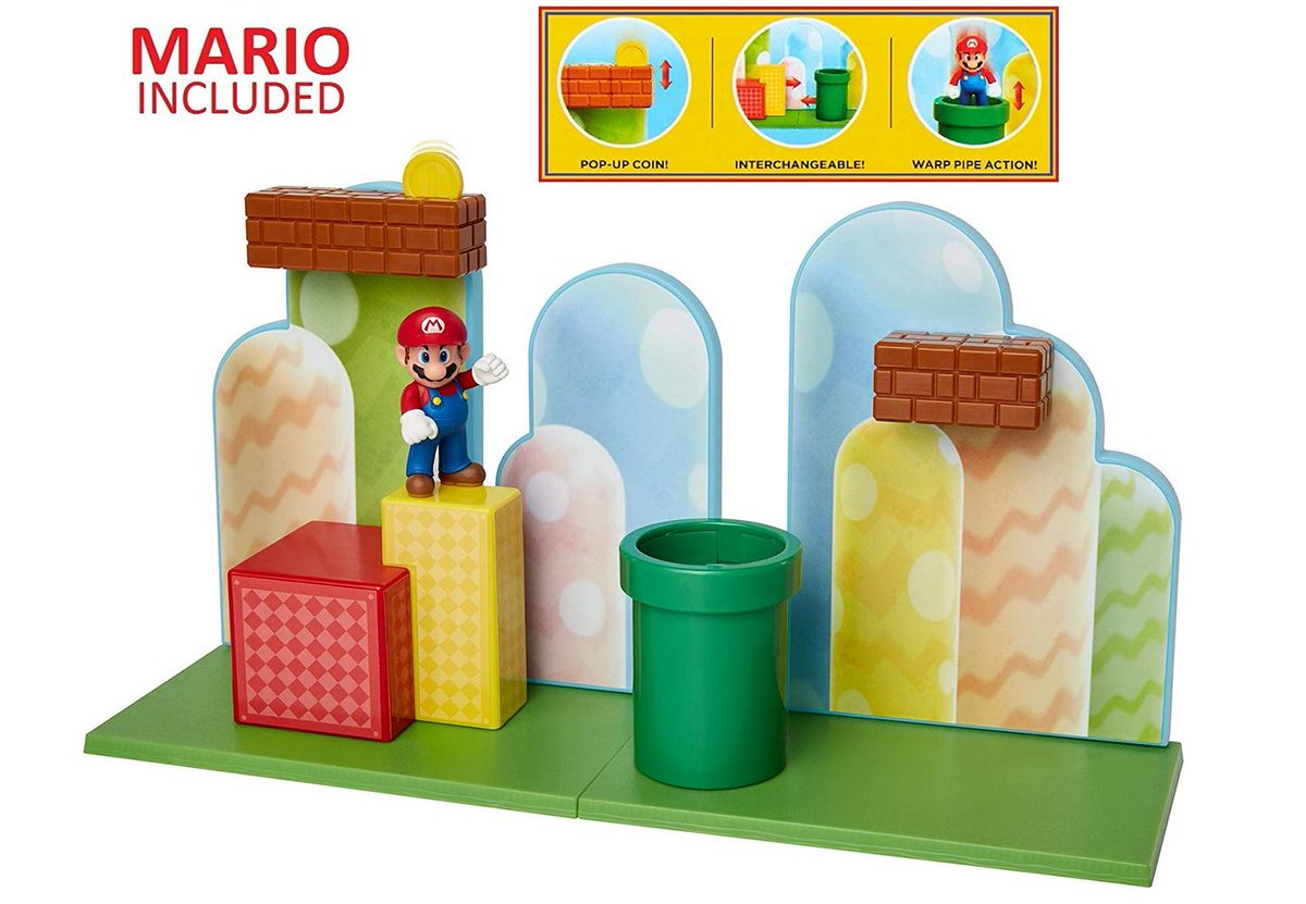 Super Mario Acorn Plains Playset is $21.99 on Amazon: 2 seems to be hard to get right now?