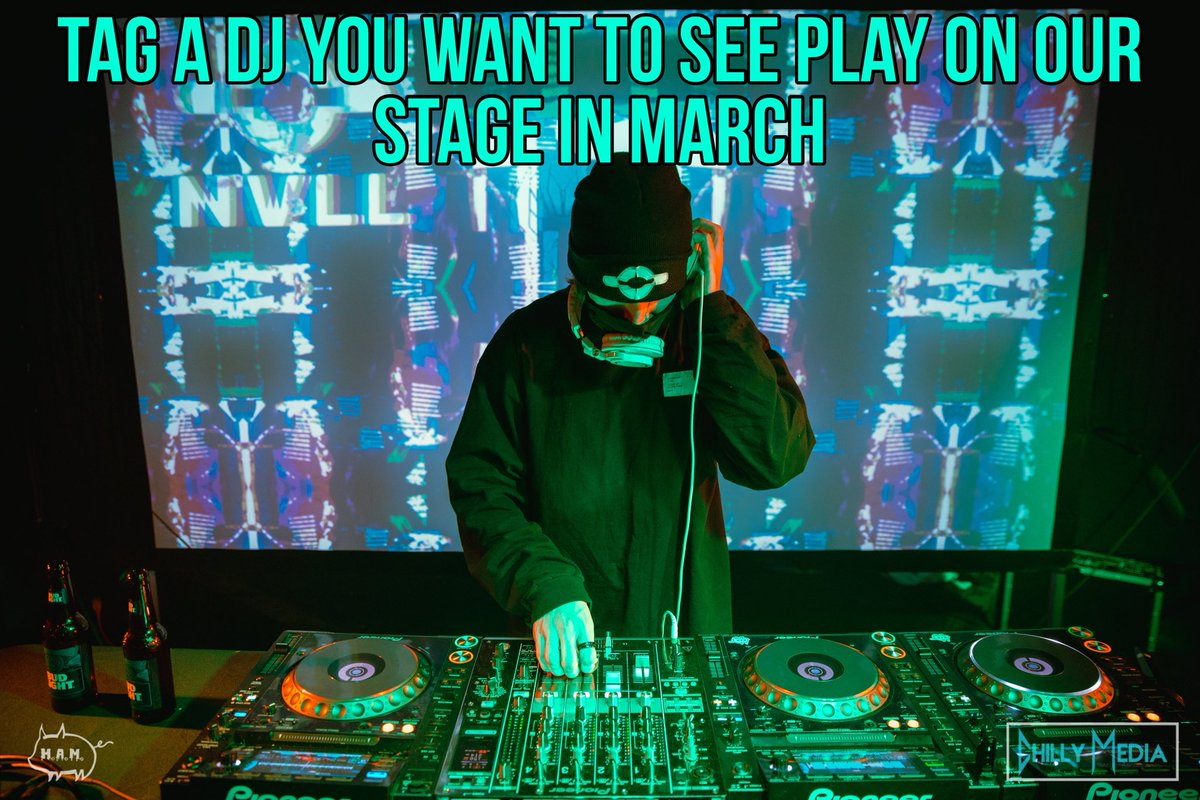 Who do you want to see play our stage next? 👀  We are currently planning our March dates now and after having 75+ incredible DJ's grace our stage over the last few weeks we want to make sure each show has fresh talent curated for the evening 🐷
