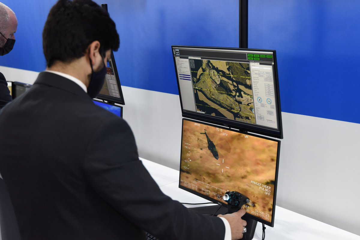 Remotely Piloted Aircraft (RPA) provide strategic capabilities & key operational effects to military forces worldwide, and #CAE helps train pilots and sensor operators for mission readiness. Explore more:  & See it live @IDEX_UAE @GenAtomics_ASI #InAbuDhabi