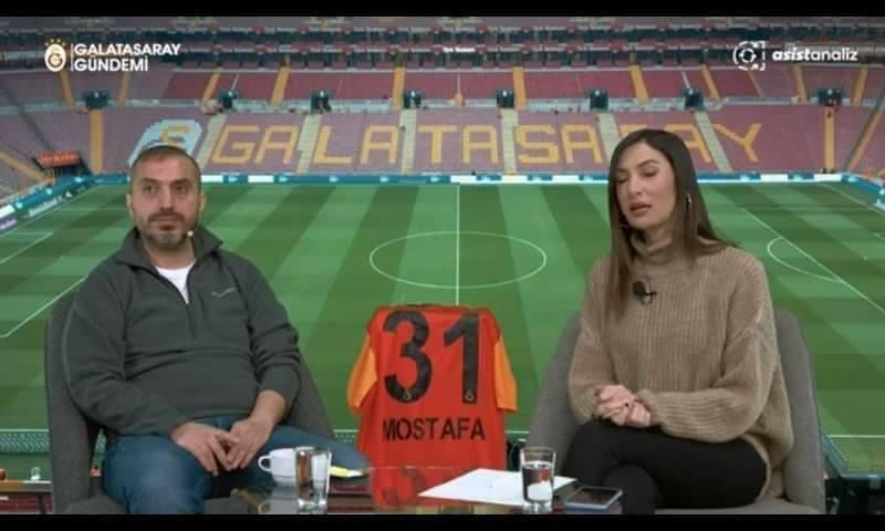 قميص الاناكوندا مصطفى محمد يزين البرامج الرياضية في تركيا