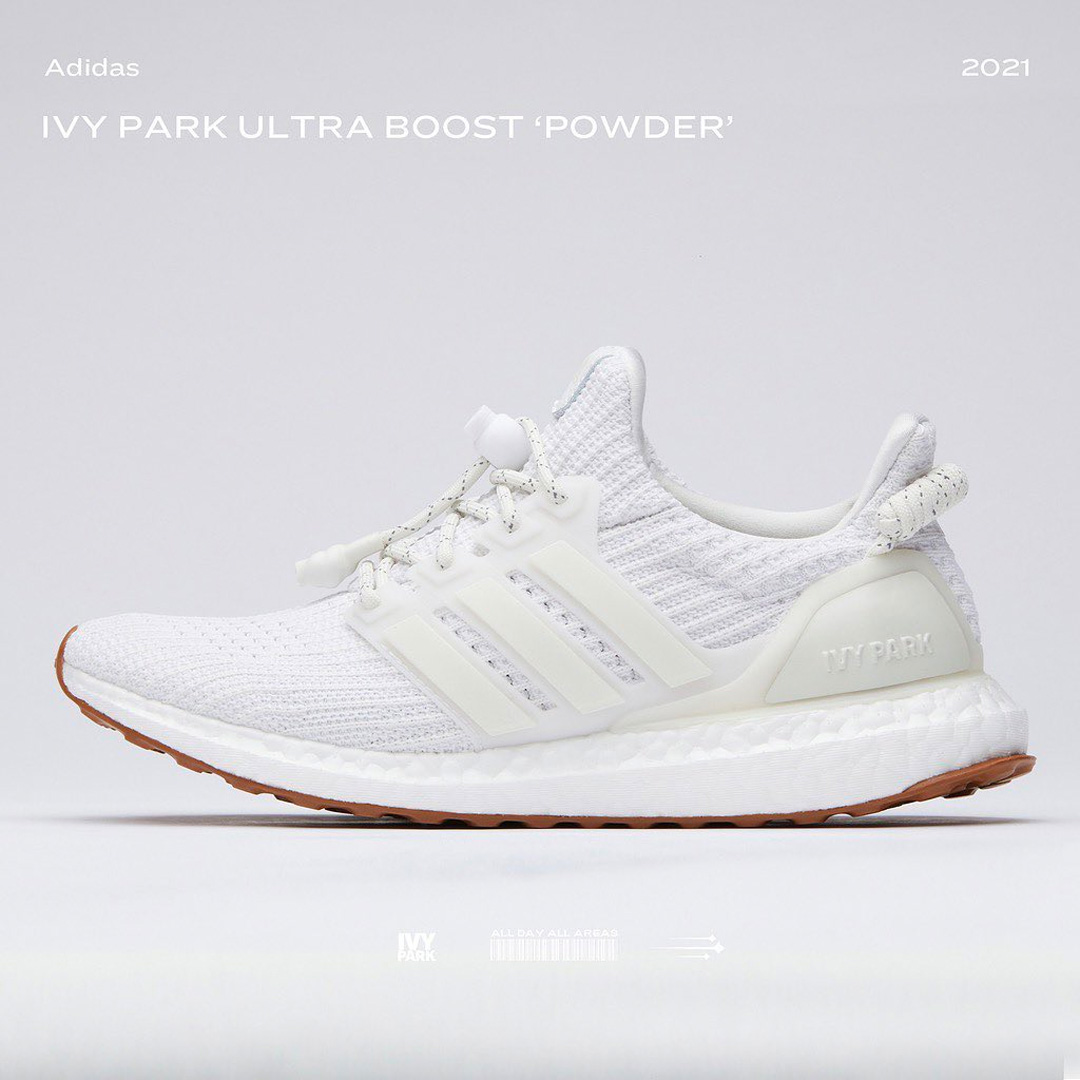 Still available on @footlocker. Ivy Park x adidas Ultra Boost 4.0.   3