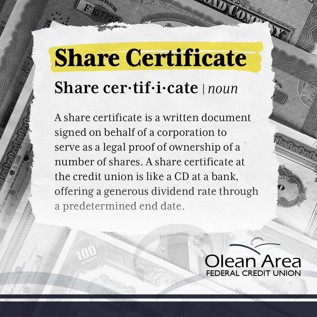 Check out our #Share Certificate #promotion before it ends February 28th!