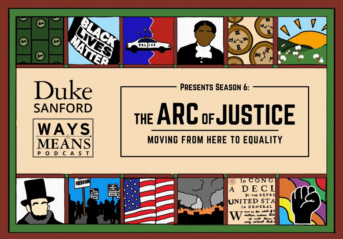 """Announcing the start of Season 6 -  """"The Arc of Justice: Moving From Here to Equality"""" - on March 3!   This special series with @SandyDarity @IrstenKMullen will uncover the history of America's racial wealth gap and what we can do about it.   Subscribe! ⬇️"""