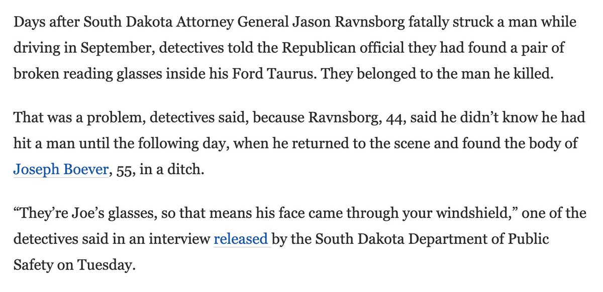 Hell of an opening to this piece on the South Dakota AG scandal. https://t.co/atP6r1tYw7 https://t.co/EWKuOTacV2