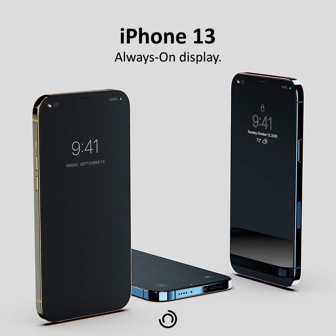 According to Everythingapplepro and Max Weinbach, #Apple is planning to include an Always-On display in the iPhone 13 lineup, with the technology being similar to the Always-On display in the #AppleWatch. https://t.co/vJJyjjHZS5