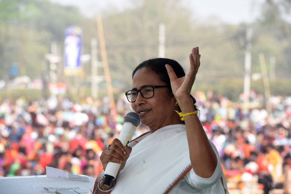"""With high-voltage state Assembly polls round the corner, #WestBengal CM #MamataBanerjee (@MamataOfficial) on Wednesday wrote to Prime Minister #NarendraModi requesting the Centre to support in purchasing the required number of #COVID19 vaccines """"on top priority basis""""."""