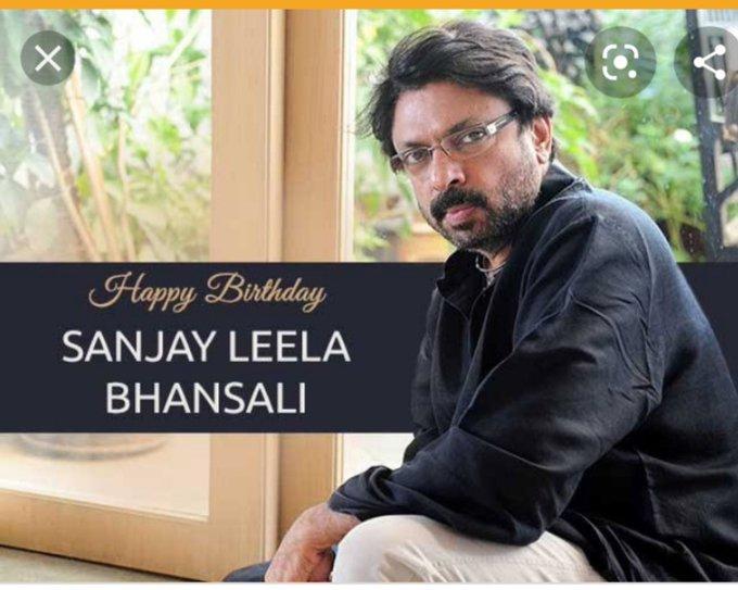 Happy Birthday Sanjay Leela Bhansali by Pradeep Madgaonkar