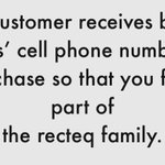 Image for the Tweet beginning: Every customer communication from @recteq_official