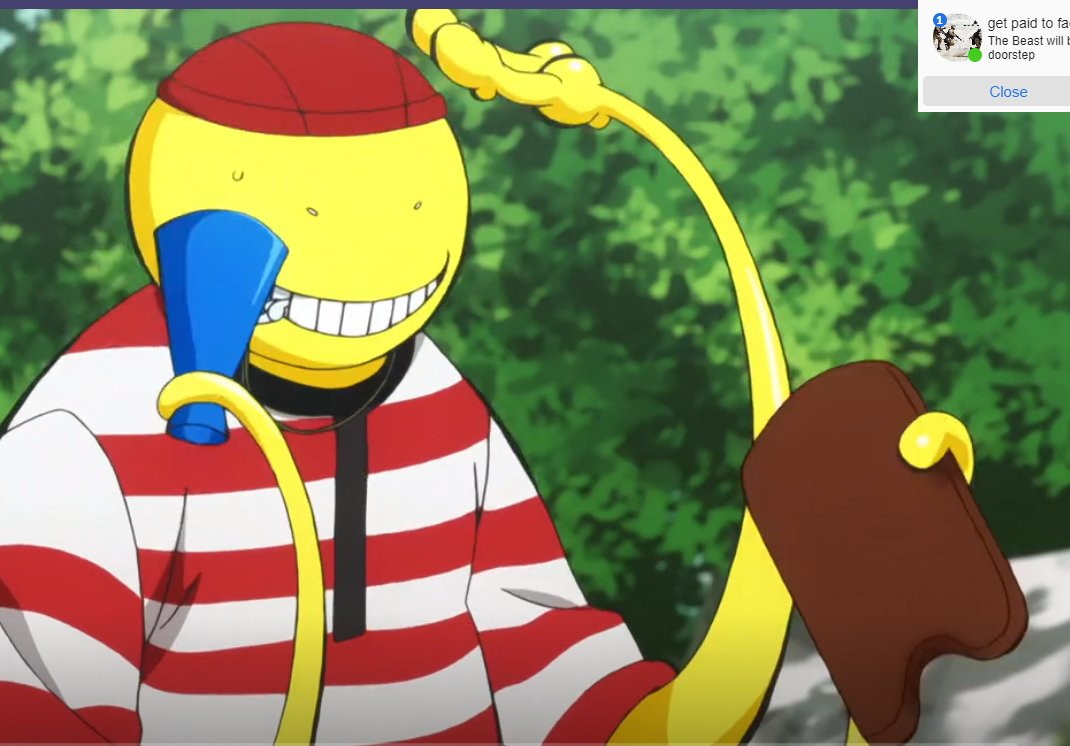 I was watching #AssassinationClassroom and then i saw this #AmongUs