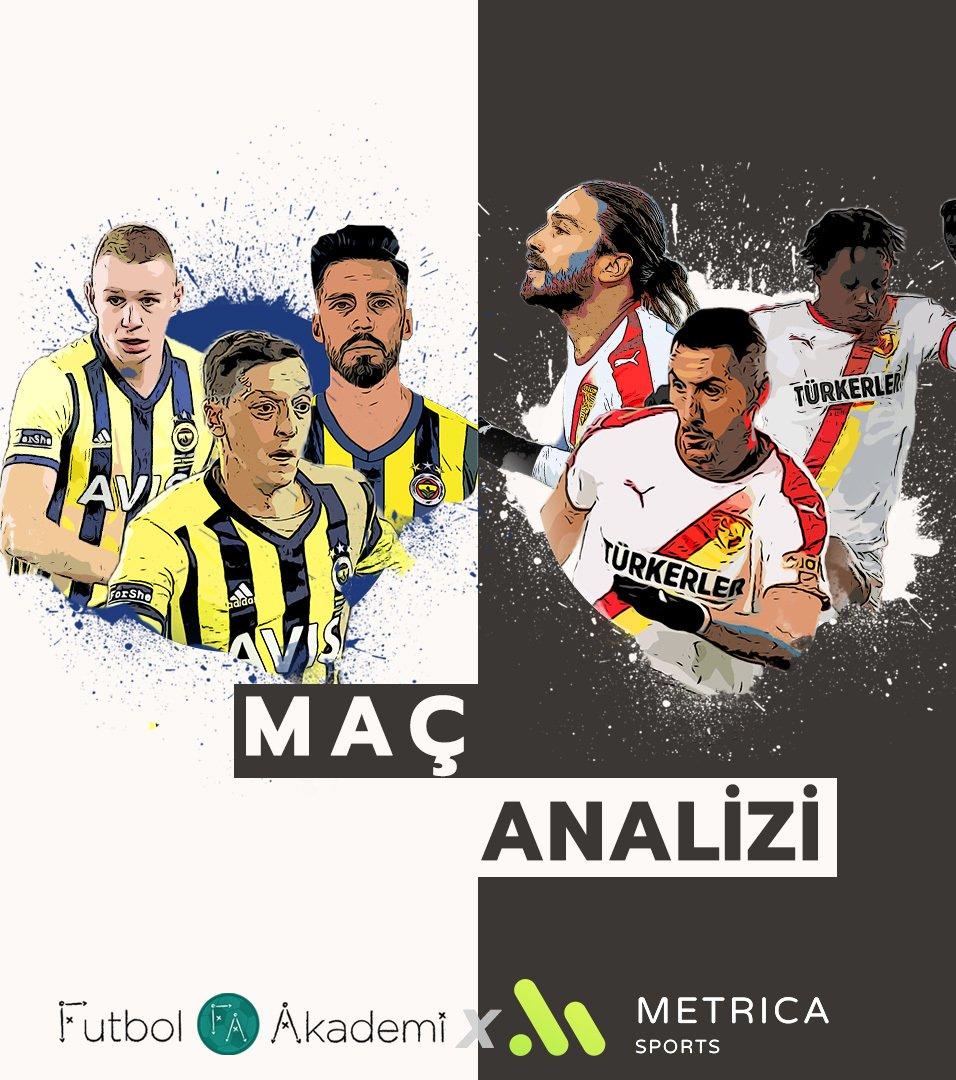 🧐 Analiz   Fenerbahçe 0-1 Göztepe  📌 8 top kazanan Fenerbahçe, bu sezon en az top kazandığı maçı oynadı. 🎯 Fenerbahçe, 7'si isabetli toplam 36 orta yaptı.  @uguraktan iş ortağımız @MetricaSports ile analiz etti 🔗 https://t.co/HyqVOBE3ZP https://t.co/0QnbzpNI9R