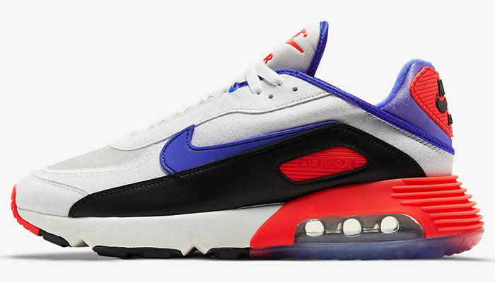 "👀🔥 The NEW ""AM180 Ultramarine"" Nike Air Max 2090 EOI is direct rom @nikestore with FREE shipping. Dope for when spring hits! #promotion"
