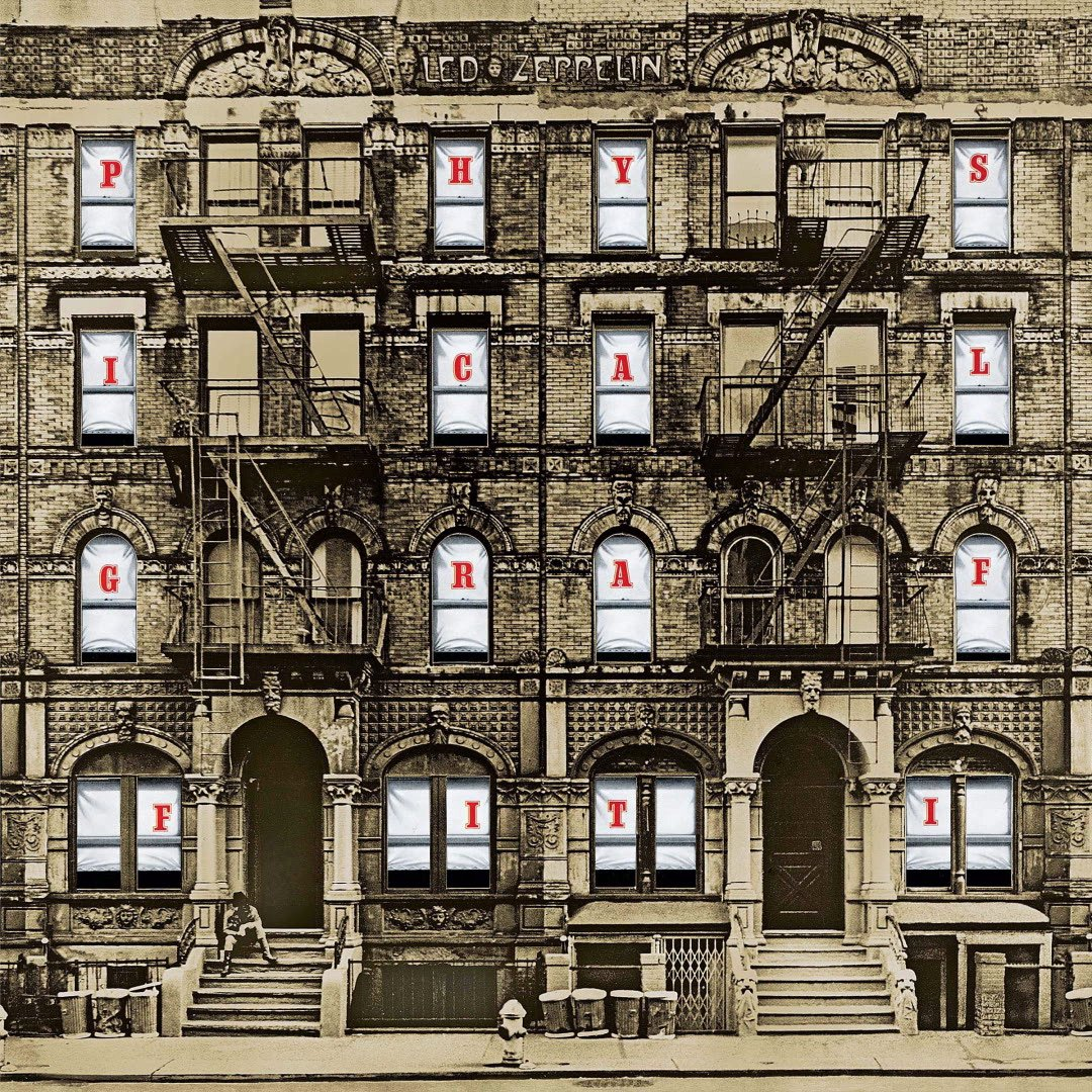 "46 years ago today, @ledzeppelin dropped their trailblazing, eclectic album ""Physical Graffiti"" featuring hits from ""Kashmir"" to ""Houses of the Holy"" to ""Ten Years Gone"" 🎸⚡️  Run it back in Ultra HD + let us know your fave track from this iconic album 🎧:"