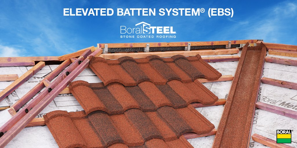Elevated Batten System x #BoralSteel as a part of the #BoralRoofing 'Cool Roof System' can contribute to keeping your home cooler in the summer and warmer in the #winter!  #WednesdayWisdom