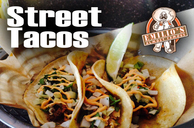 Best STREET TACOS in town #streettacos #steak #shrimp #fish #chicken #ole #cantina #familyowned #local #emiliosalmostfamous #eat #lunashine #cerveza #tacos #tagsforlikes #yummy #corn #tortillas #amazing #awesome #doradohabanero #homemade #foodie #broomfieldco #westminsterco