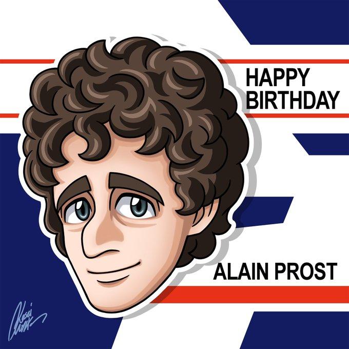 Happy Birthday  F1 Legend Alain Prost