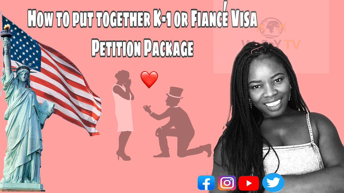 How to prepare K-1 /Fiancé Visa Petition Package to Submit to USCIS | US Immigration  #90DaysFiance #90DayFiance #k1visa #uscis #interview