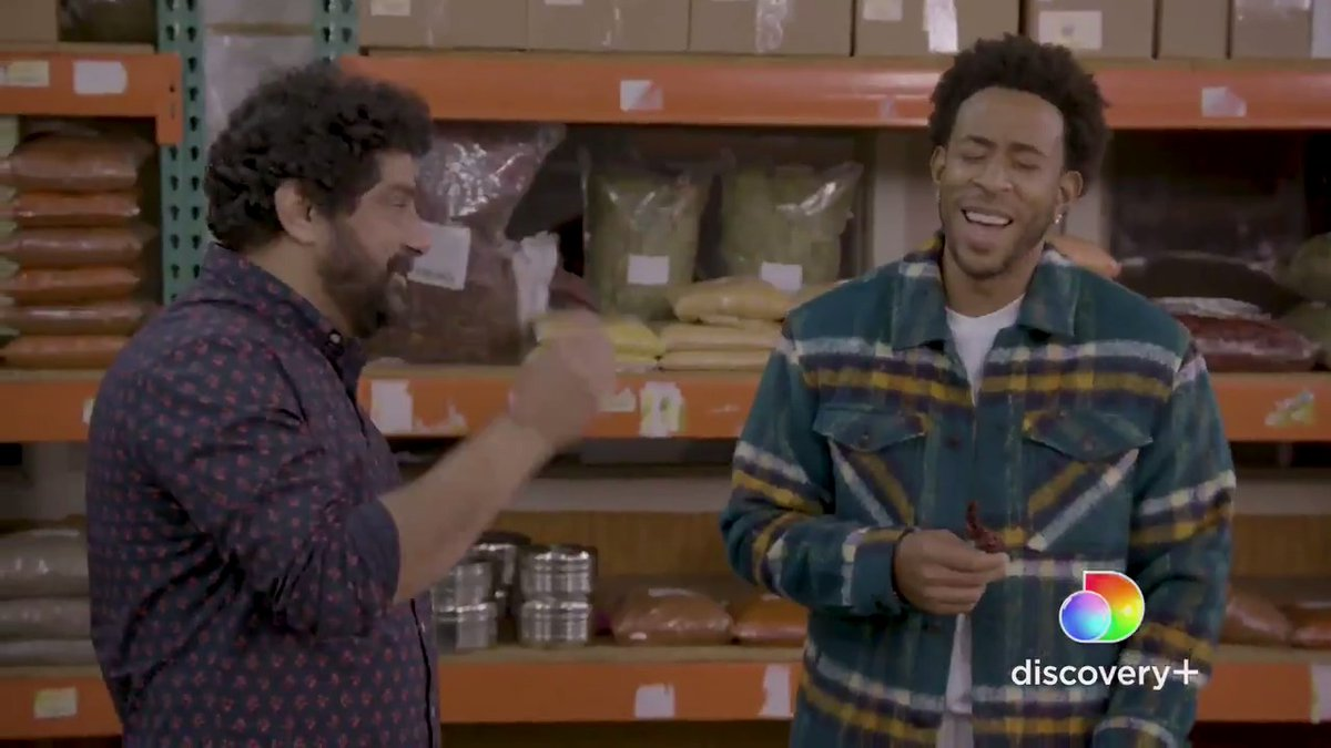 FoodNetwork: .@ludacris gets a lesson in Indian spices before heading into the kitchen on the new @discoveryplus special #LudaCantCook!  Stream it NOW exclusively on #discoveryplus: