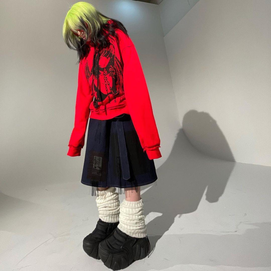 Billie Eilish - #TheWorldsALittleBlurry Collection  Available now