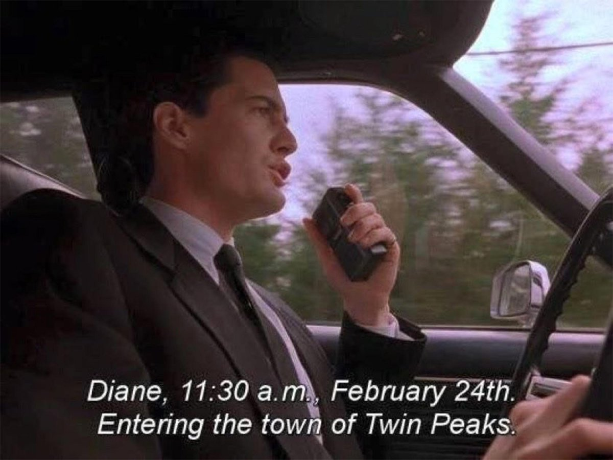Happy Twin Peaks day! Have some coffee and pie, maybe solve a murder!  Fire walk with me!  #TwinPeaksDay #firewalkwithme