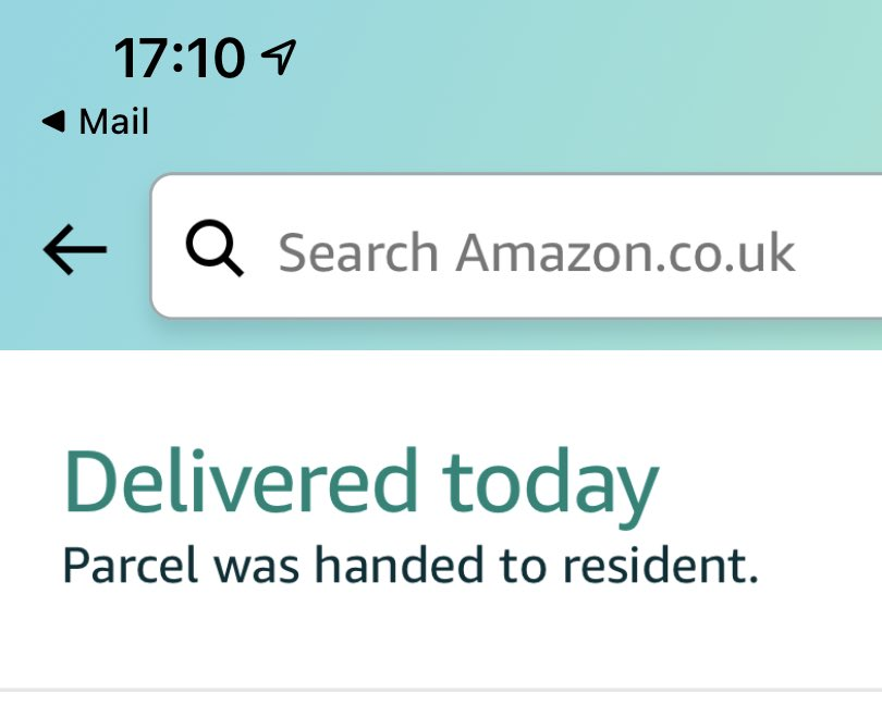 Impressive stuff Amazon considering I've been at work all day 🤔