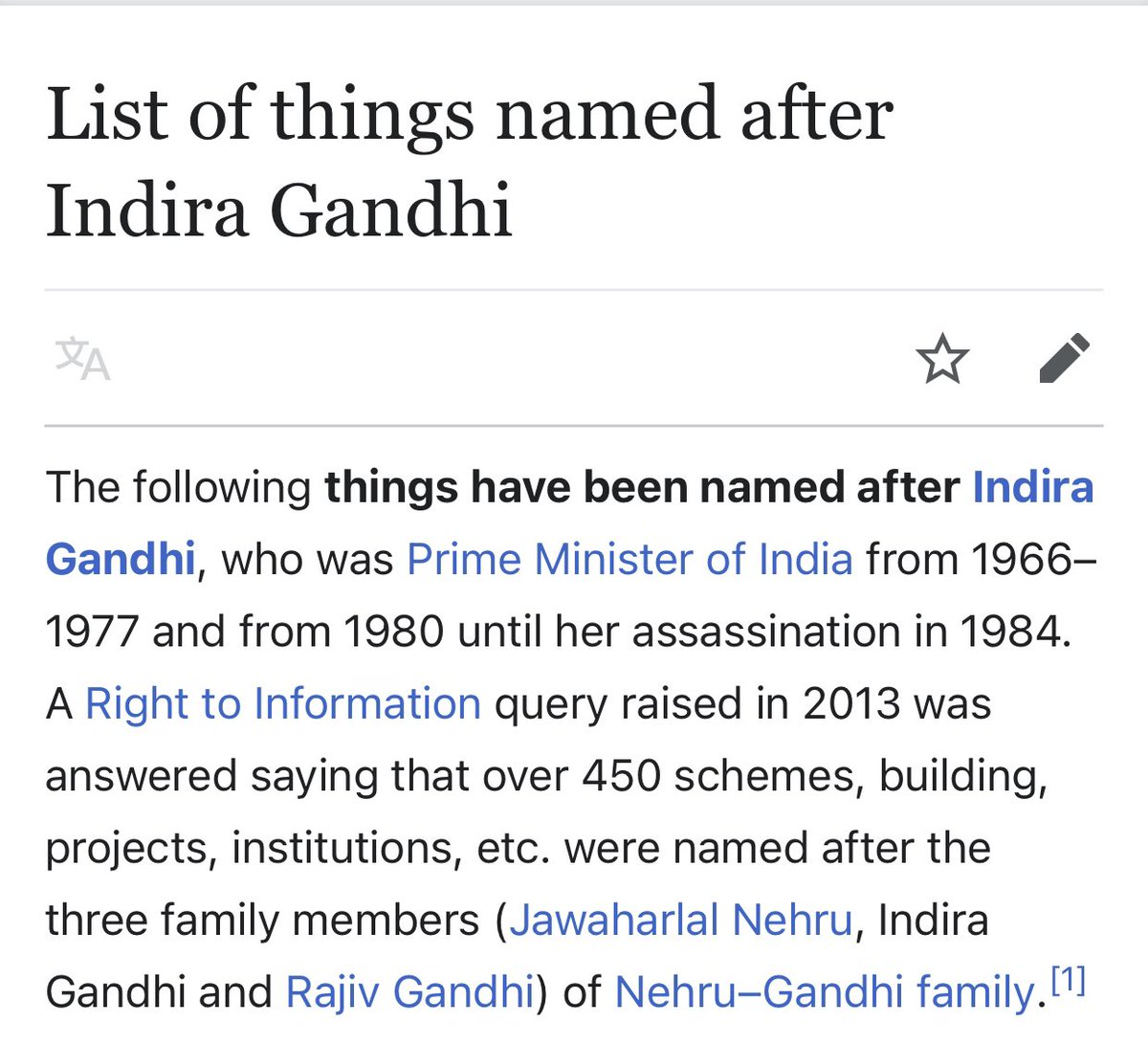 India today is questioning about 450 schemes, buildings, projects & institutions named after 3 family members   #NarendraModiCricketStadium is a #MasterStroke