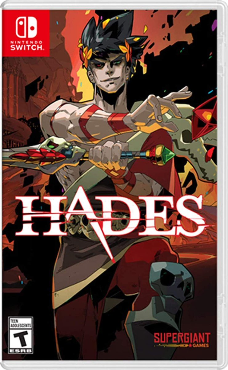 Hades is available for pre-order on Amazon.   2