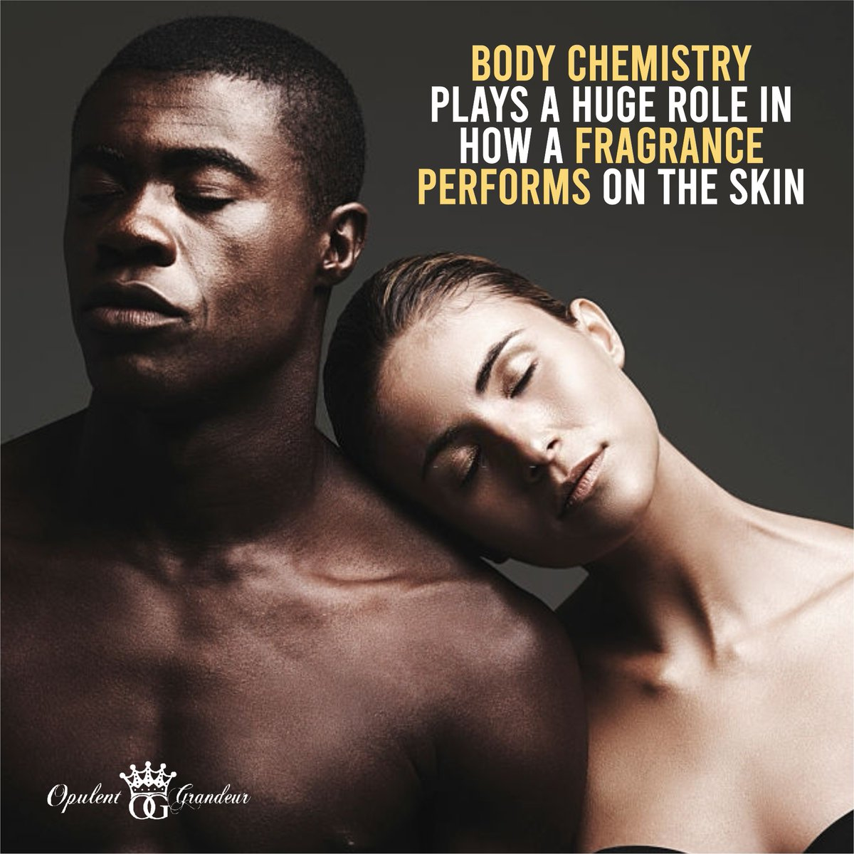 Body Chemistry plays a huge role in how a fragrance performs on the skin as well as temperatures and skin moisture. ---- 🌐   #opulentgrandeur #fragrance #perfume #parfum #scent #perfumecollection #perfumes #beauty #fragrances #scentoftheday #fragrancelover