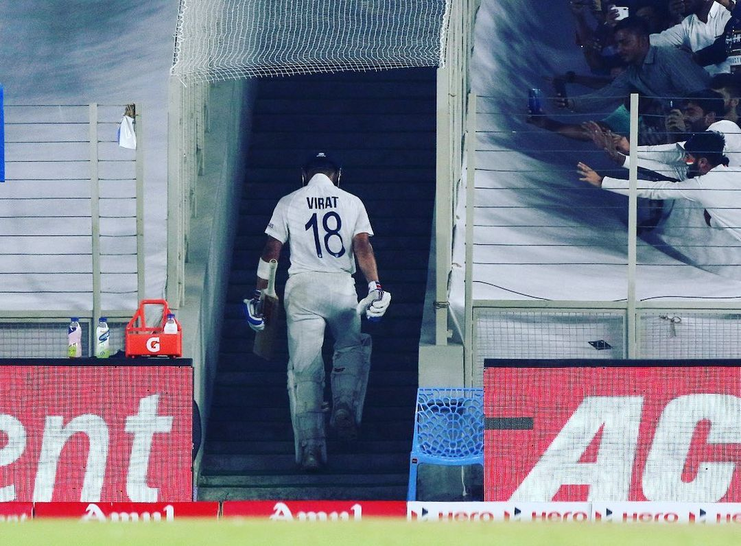 Will come back here after his next century. It is unbearable at the moment. Go well my Team India. Rohit don't disappoint us tommorow. Good wishes to my boys 🇮🇳 #INDvENG #ViratKohli