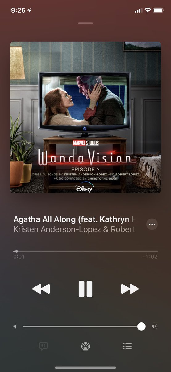I will never play another song for as long as I live. #AgathaAllAlong #WandaVision #Marvel #Disney https://t.co/FmaEVeHgGf