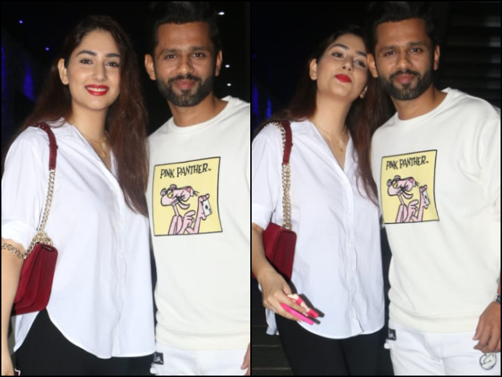 #BiggBoss14 Contestant #RahulVaidya Clicked With Girlfriend Disha Parmar At Restaurant  Check Images: