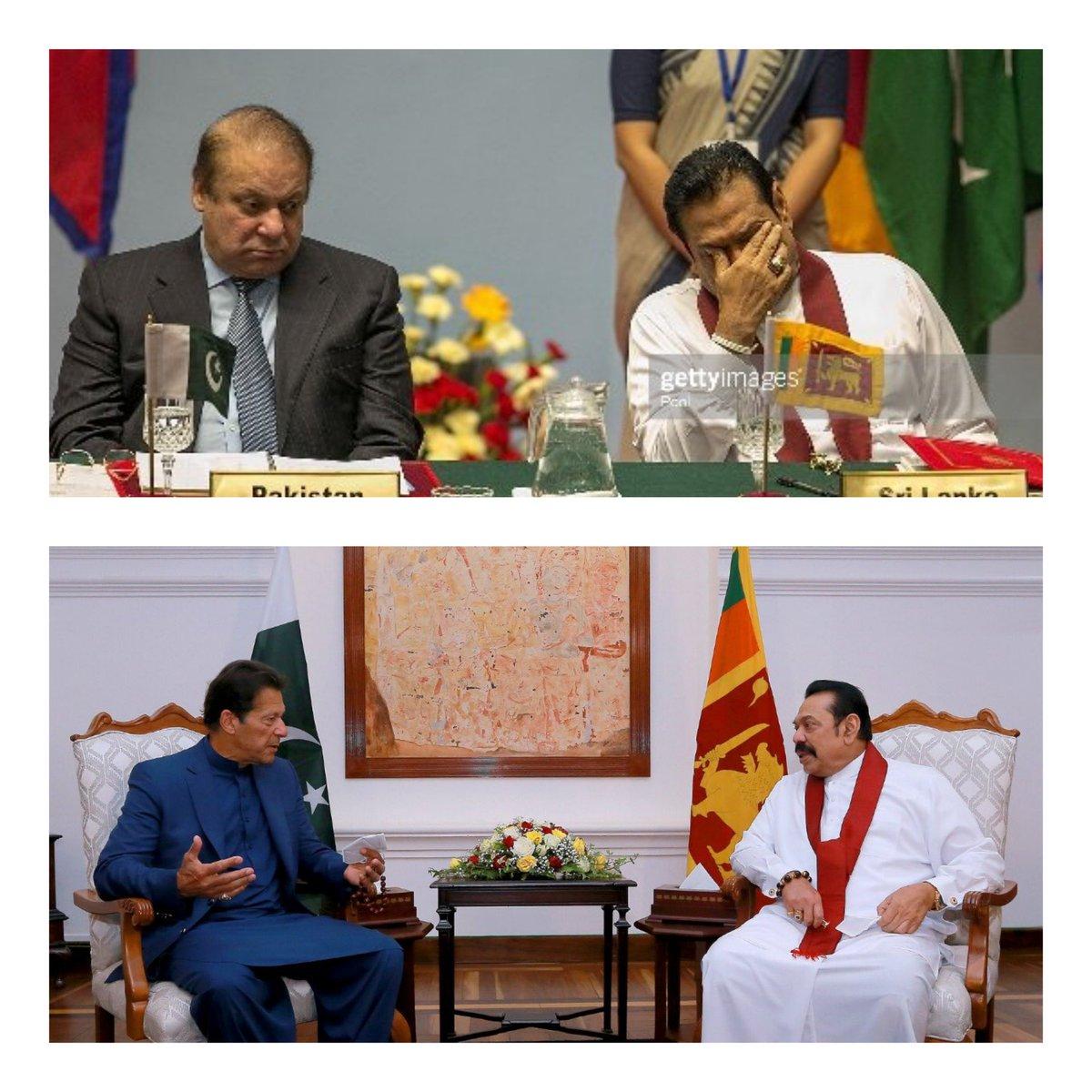 فرق صاف ظاہر ہے #ImranKhan #SriLanka @PTIofficial