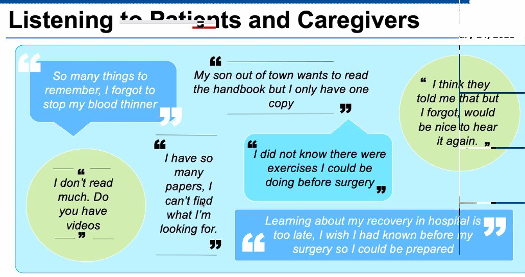 Listening to what patients and families are saying about their post-acute care  @SeamlessMD @CANHealthNtwrk https://t.co/B76KbnCMGW