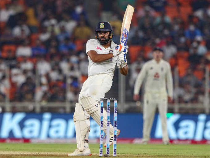 Rohit hits fifty as India close in on Englands 112 - listen to The Cricket Social Photo