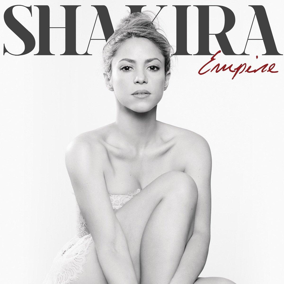 """Hoy, hace 7 años, Shakira lanzaba """"Empire"""" como segundo sencillo de """"SHAKIRA."""".  La canción alcanzó el puesto #58 en el Billboard Hot 100 de Estados Unidos y recibió certificado platino por la RIAA por 1 millón de copias vendidas legales. Además, alcanzó el #25 en UK Singles!"""