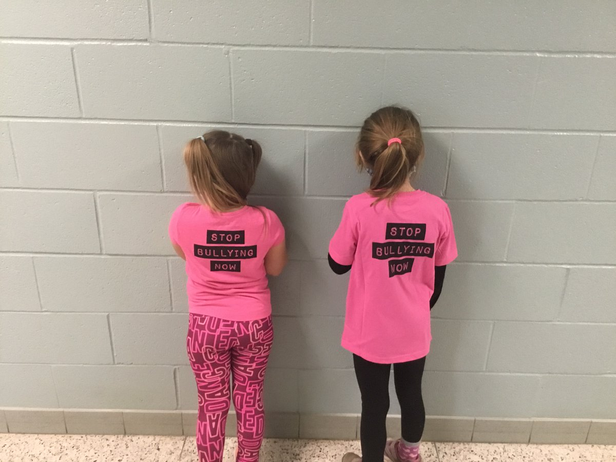Celebrating Pink Day at Gore Hill.  Gators support a safe, inclusive environment for all. @gecdsbpro @pinkshirtday