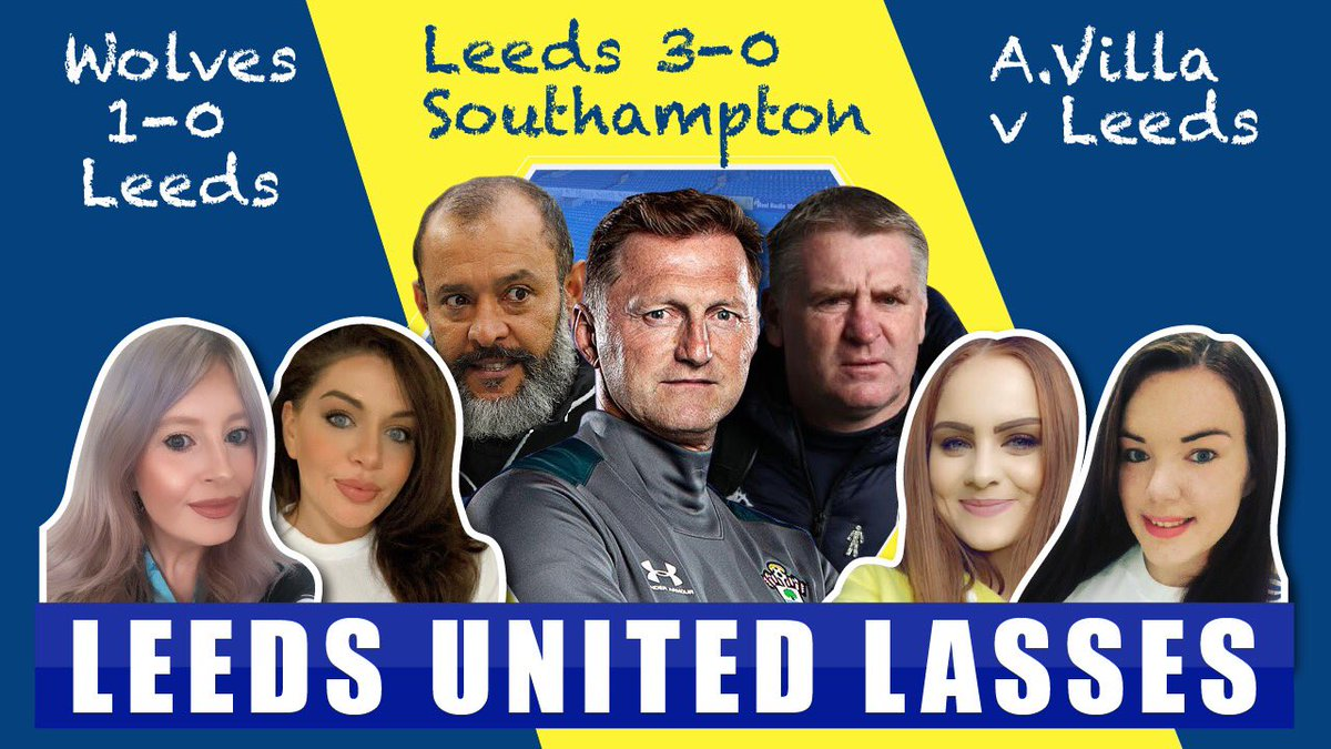 Live at 8pm tonight if you want to join the @AllLeedsTV gang and I 💛🤍💙 @100YearsOfLUFC  @Rhiannon_j92  @MissVJFxx