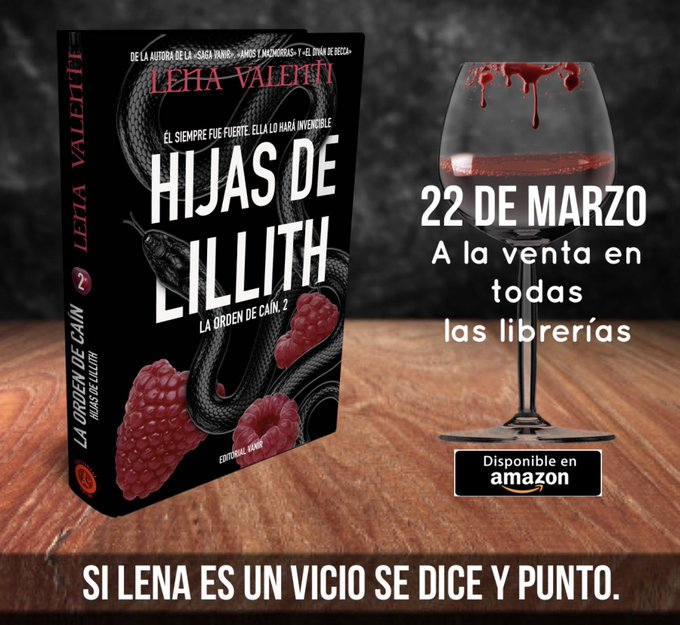HIJAS DE LILLITH de Lena Valenti